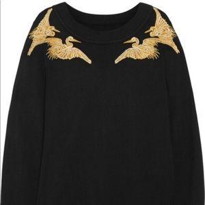 Altuzarra x Target Embroidered Gold Crane Sweater